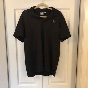 Puma dry fit golf polo